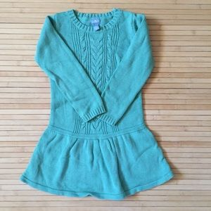 Baby Gap green sweater dress
